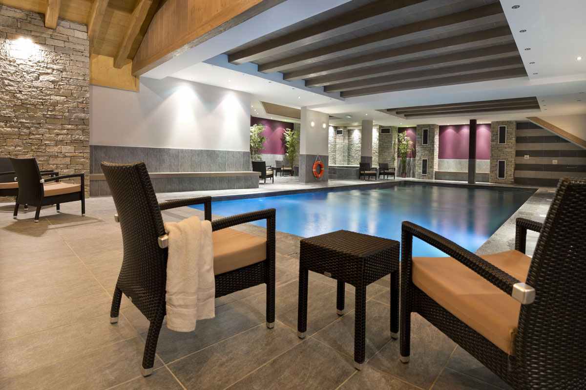 Chalet des Dolines, Montgenevre (self catered apartments) - Indoor Pool