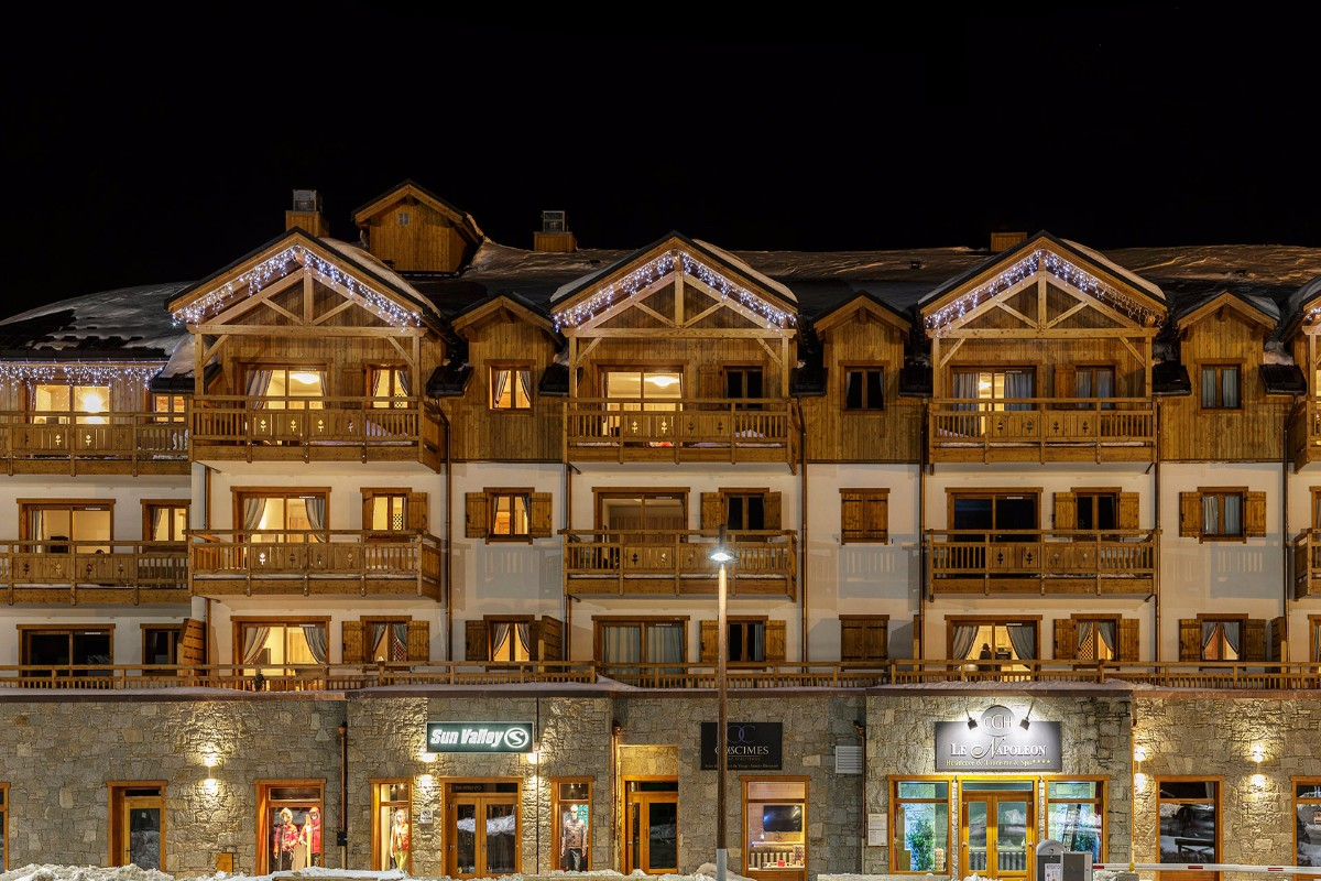 Le Napoleon, Montgenevre (self catered apartments)