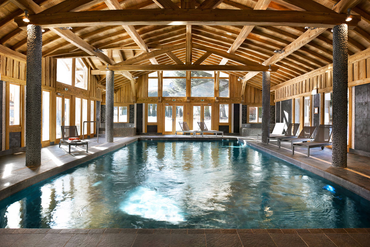 Le Hameau de Pierre Blanche, Les Houches (self catered apartments) - Indoor Pool