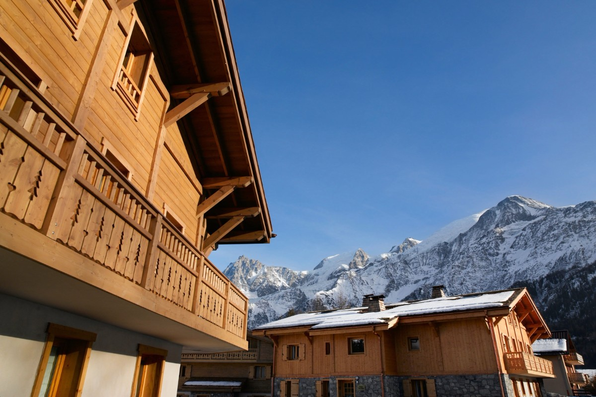 Le Hameau de Pierre Blanche, Les Houches (self catered apartments) - Beautiful Location