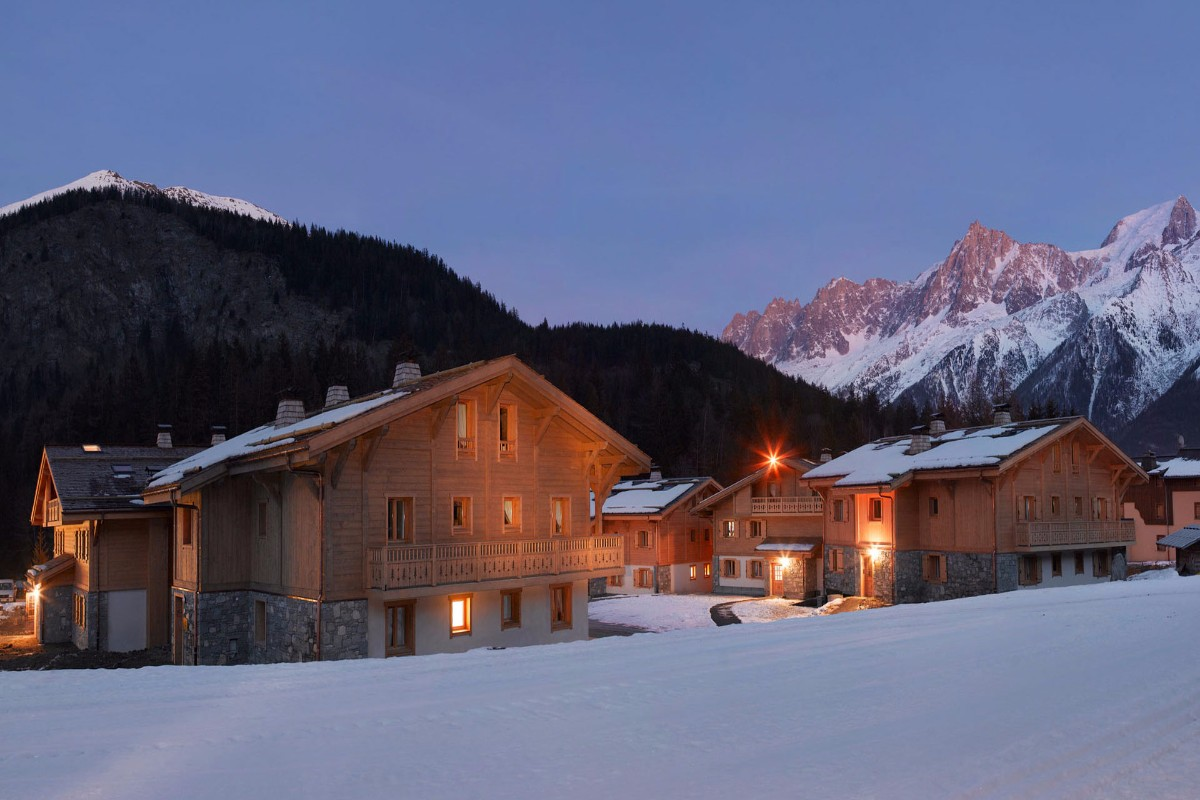 Le Hameau de Pierre Blanche, Les Houches (self catered apartments) - Beautiful Views