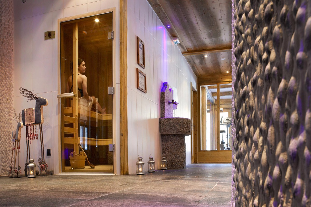 Le Hameau de Pierre Blanche, Les Houches (self catered apartments) - Sauna