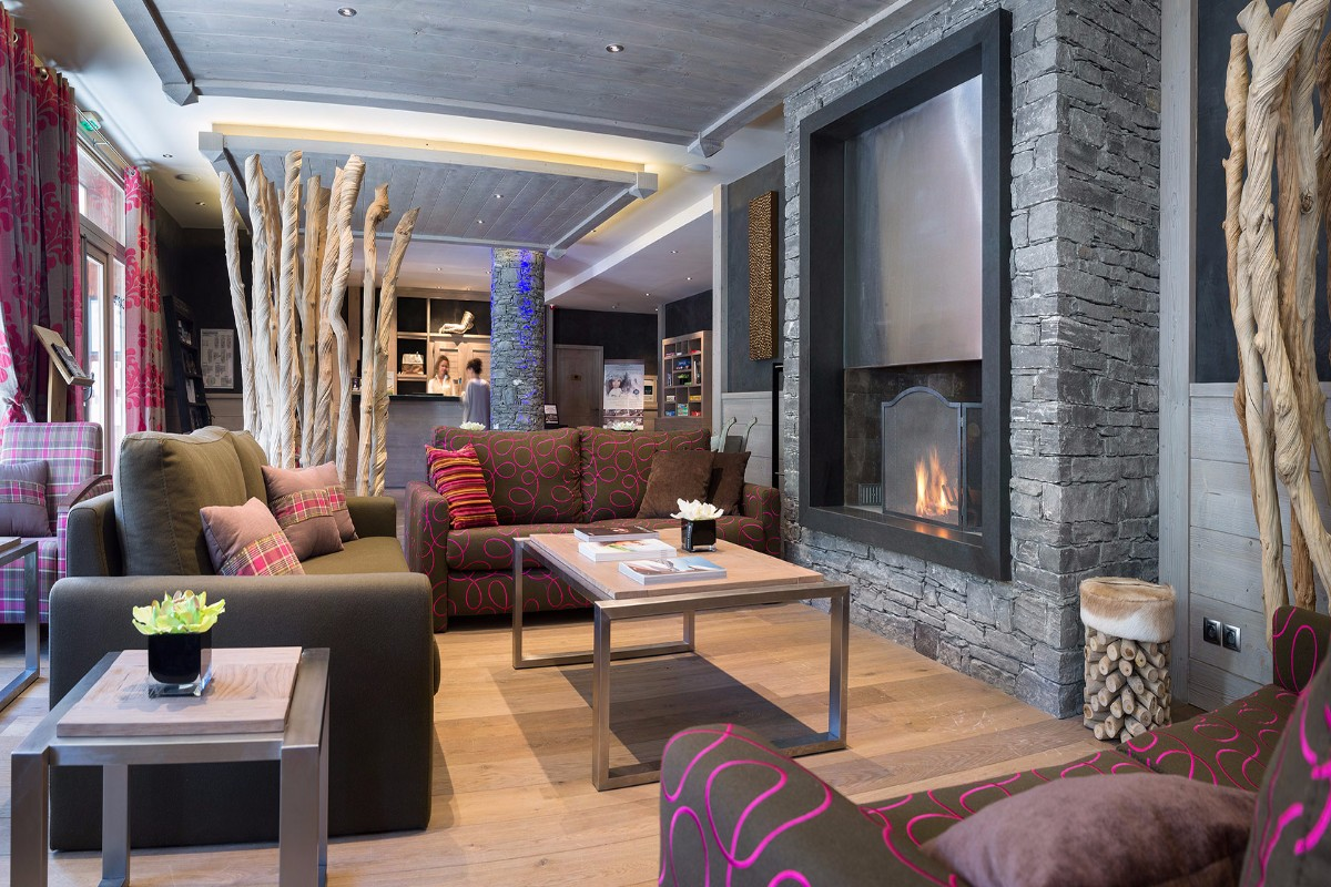Lodge Hemera, La Rosiere (self catered apartments) - Residence Lounge