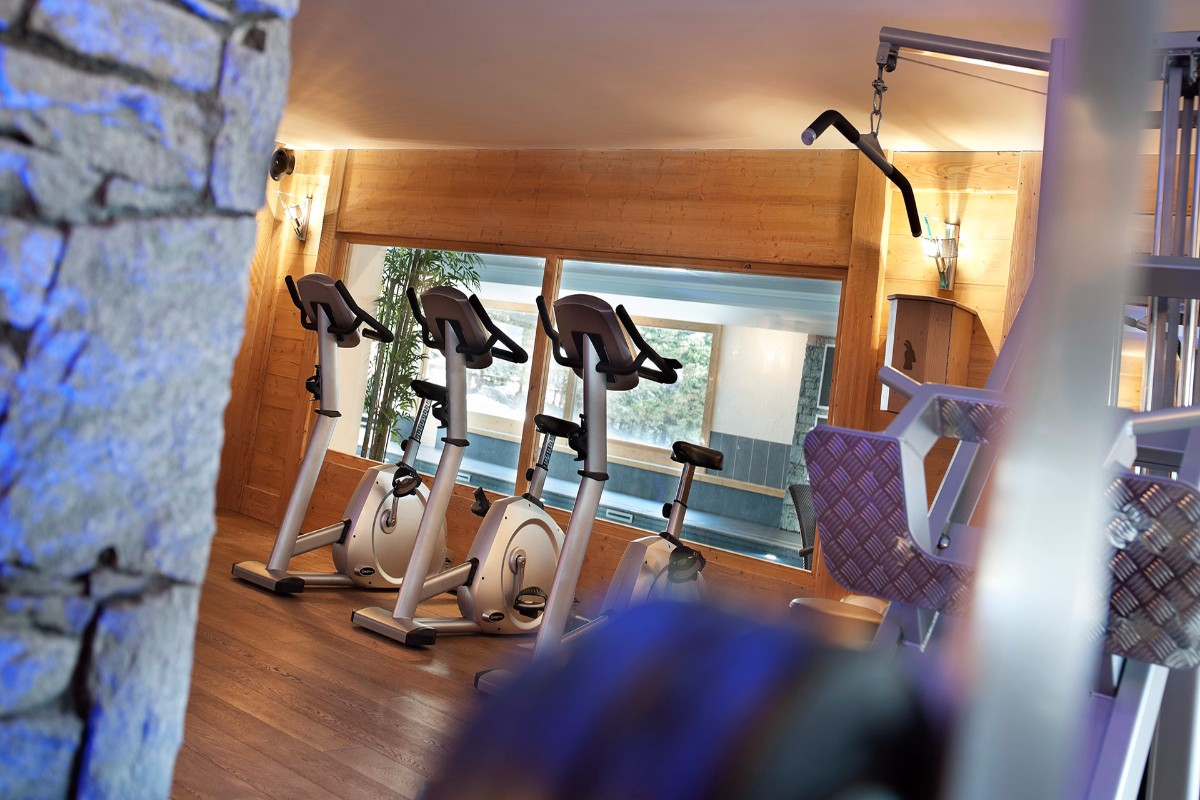 Les Chalets du Jouvence, Les Carroz (self catered apartments) - Gym