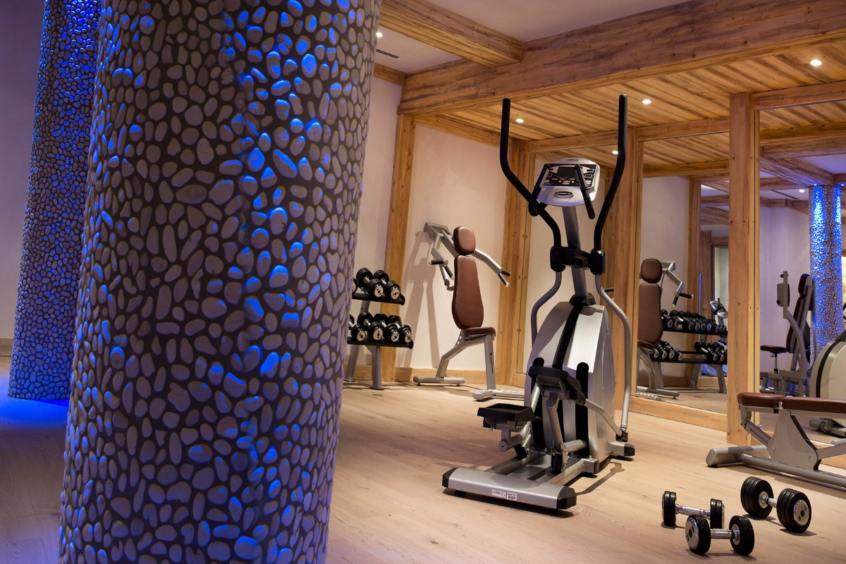 Les Chalets du Flambeau, Val Cenis (self catered apartments) - Gym