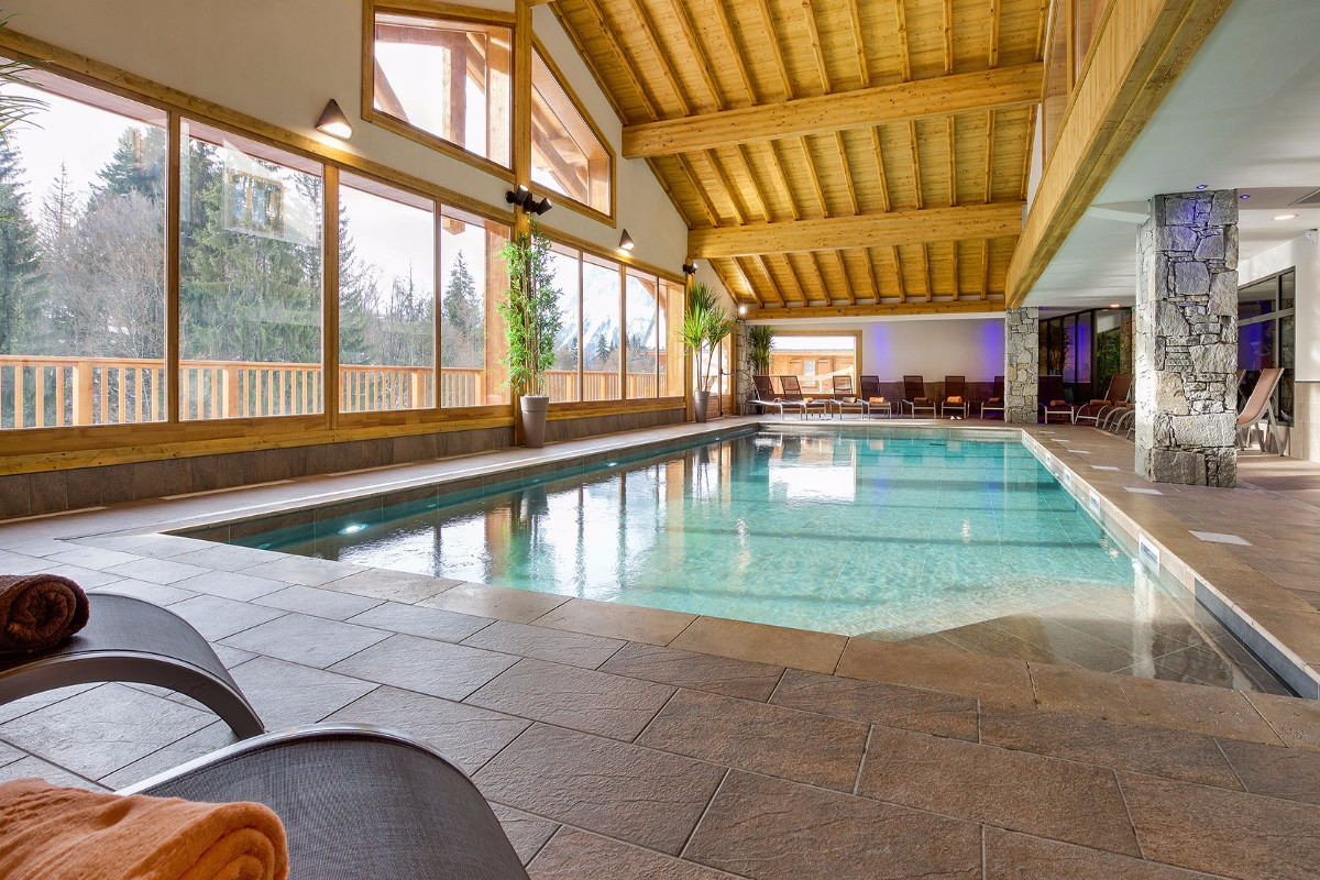 Les Chalets de Leana, Les Carroz (self catered apartments) - Indoor Pool