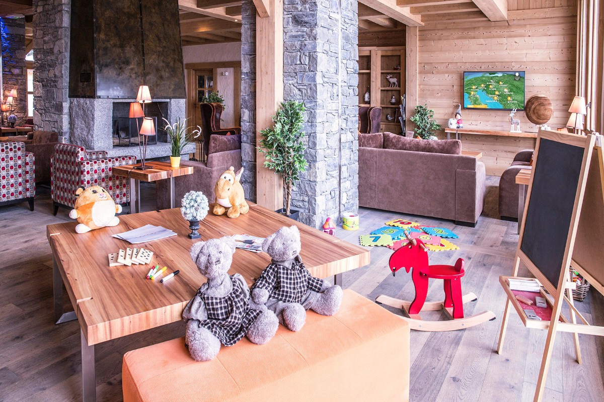 Grange aux Fees, Valmorel (self catered apartments) - Kids area