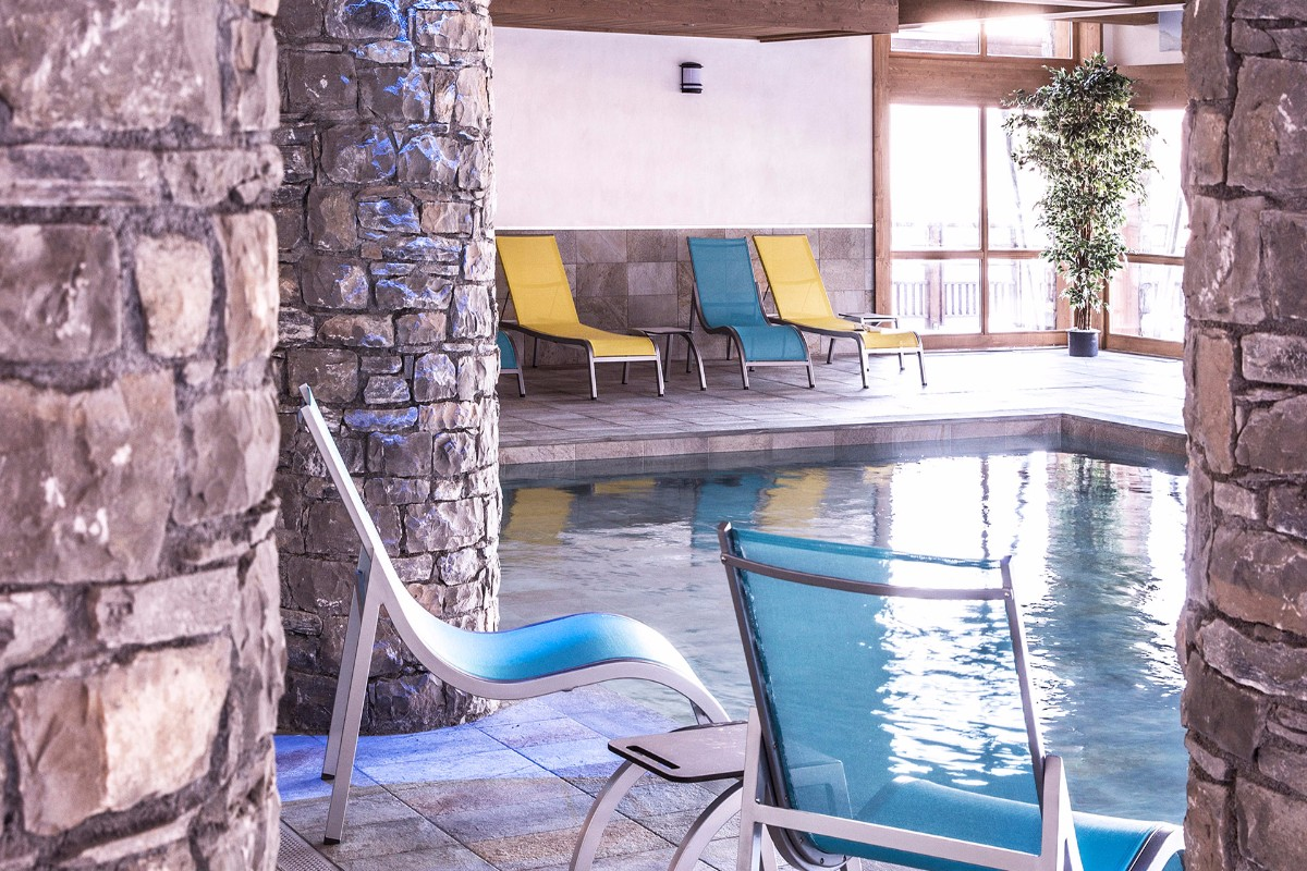 Grange aux Fees, Valmorel (self catered apartments) - Indoor Pool