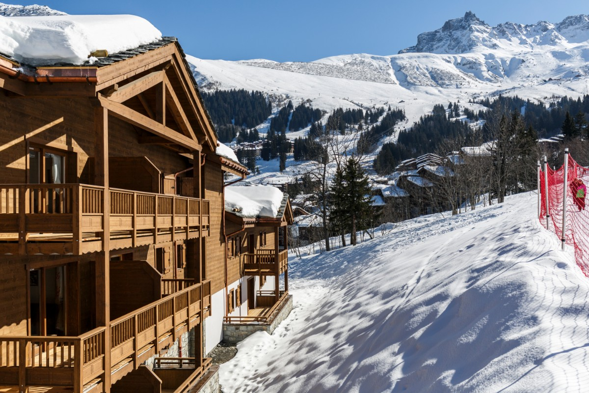 Grange aux Fees, Valmorel (self catered apartments) - Excellent location