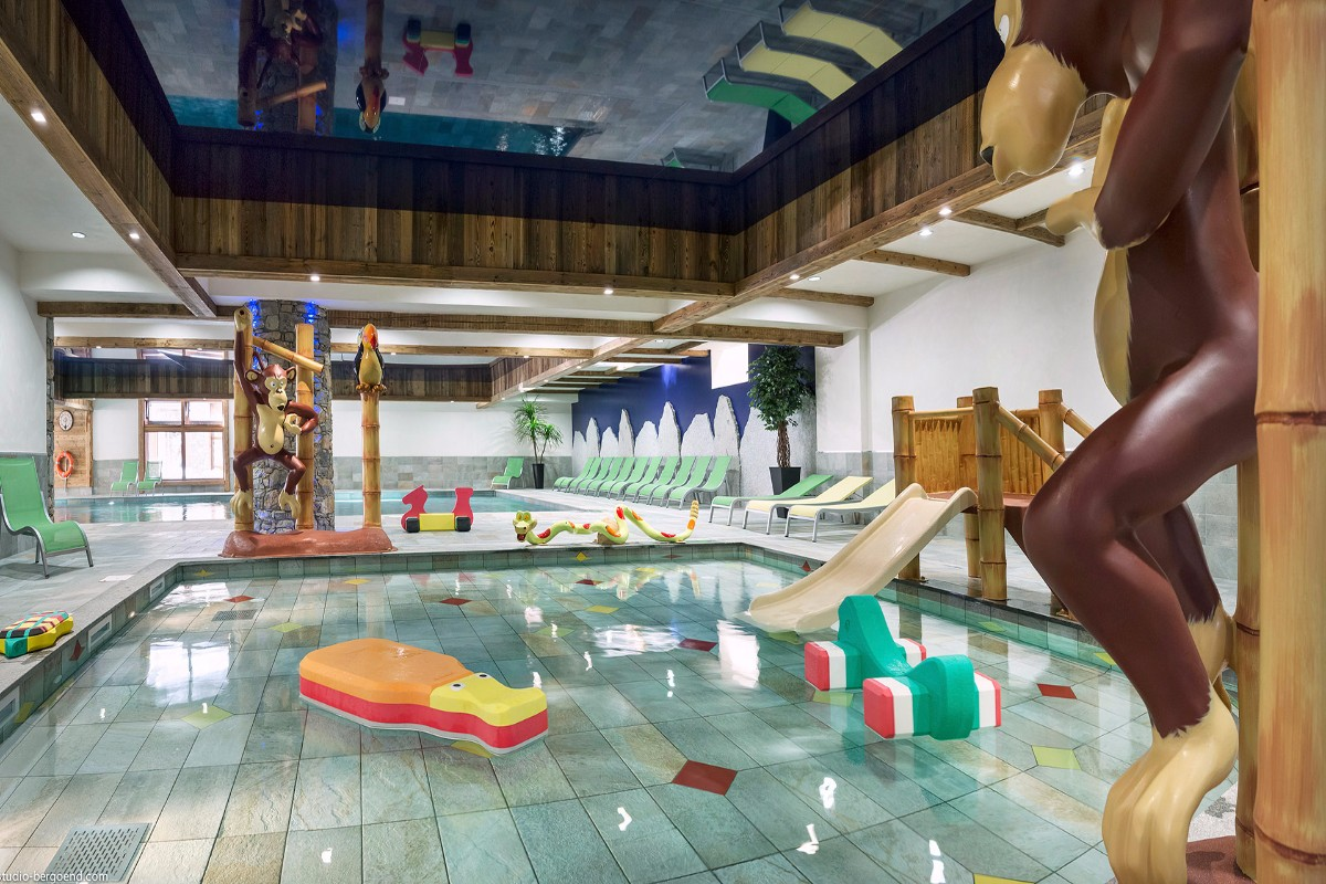 Kalinda, Tignes 1800 (self catered apartments) - Kids Pool