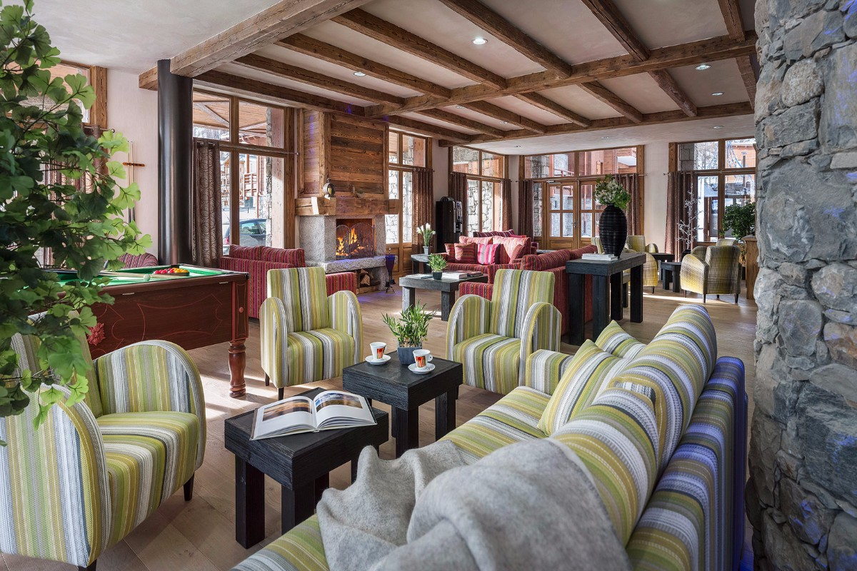 Kalinda, Tignes 1800 (self Catered Apartments)   Residence Lounge