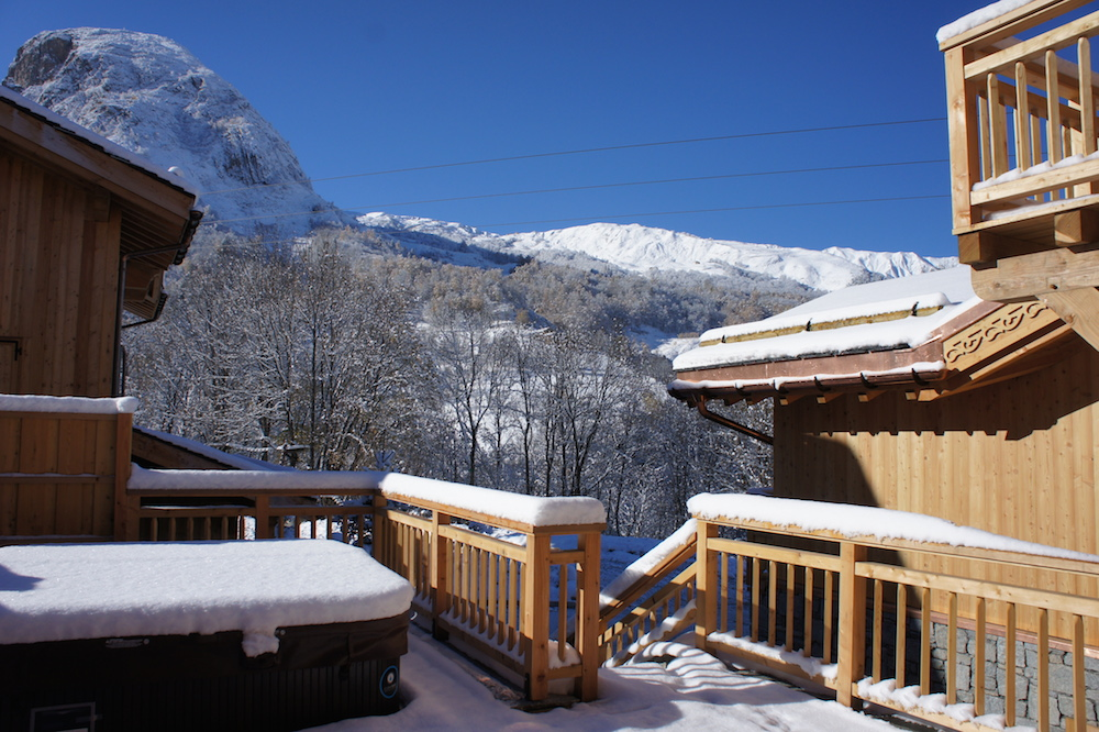 Chalet Violet, St Martin de Belleville (self catered chalet) - Views