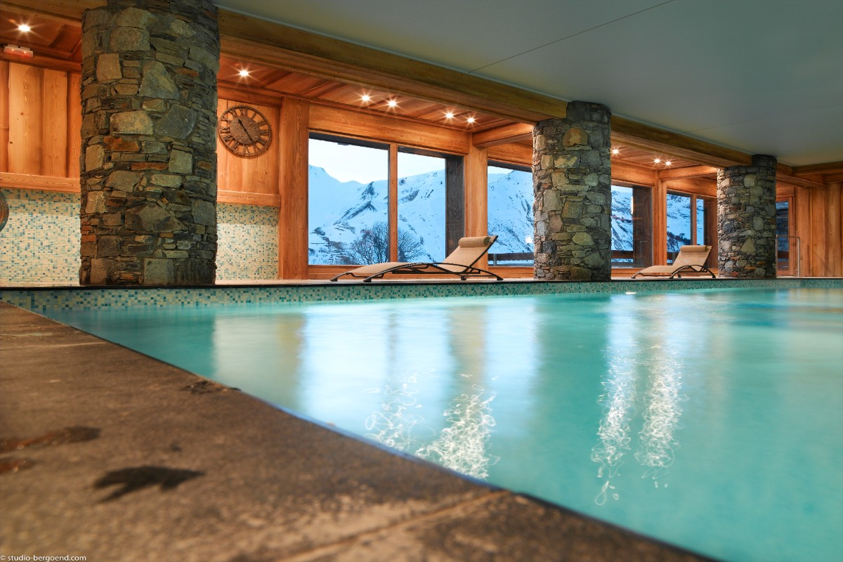 Les Chalets du Gypse, St Martin (self catered apartments) - Indoor Pool