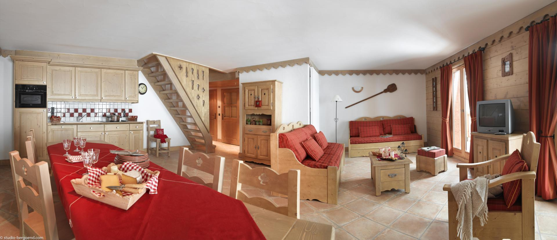 Les Chalets du Gypse, St Martin (self catered apartments) - Duplex Apartment