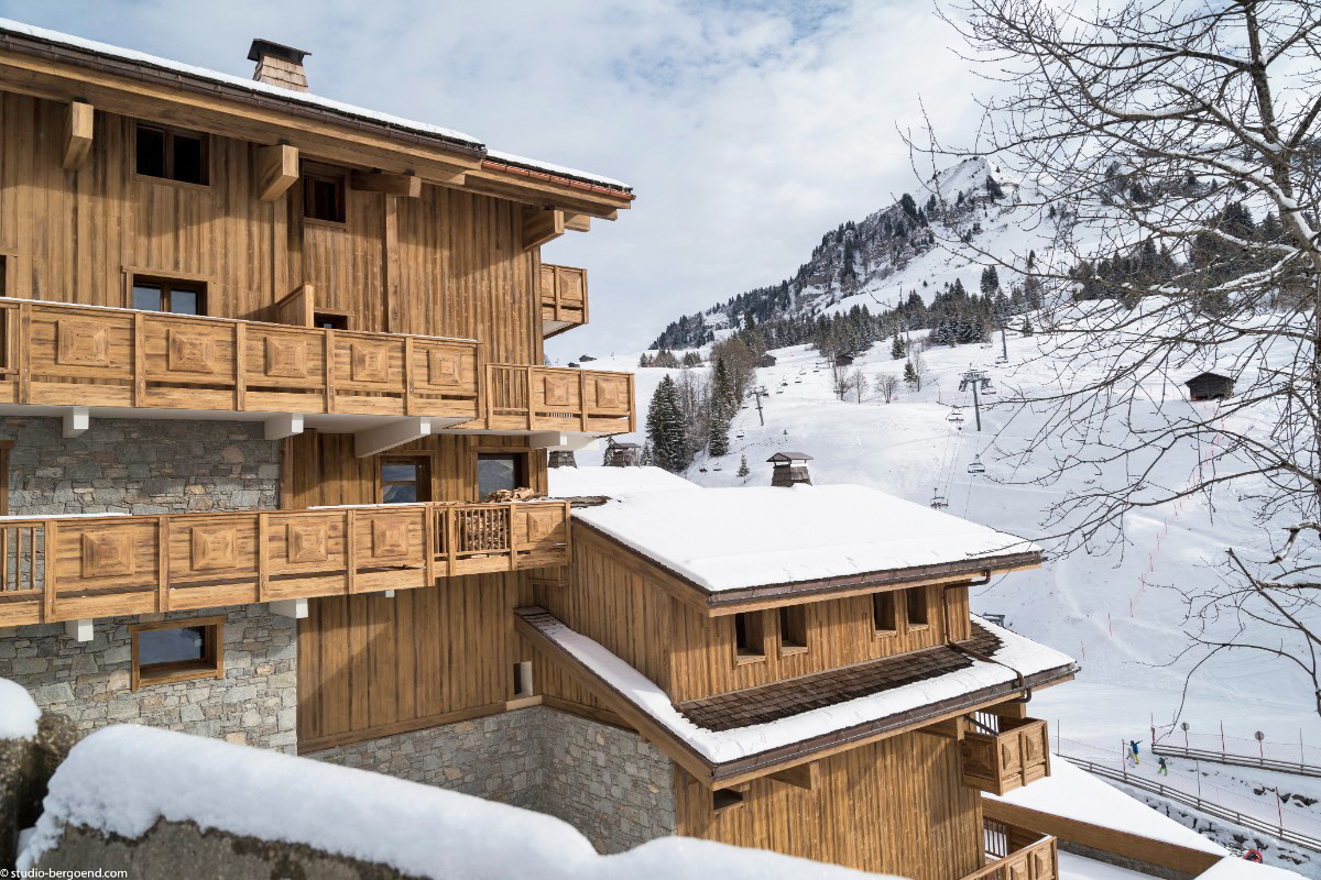 Le Roc des Tours, Grand Bornand (self catered apartments) ©MGM-studio Bergoen - Right by slopes