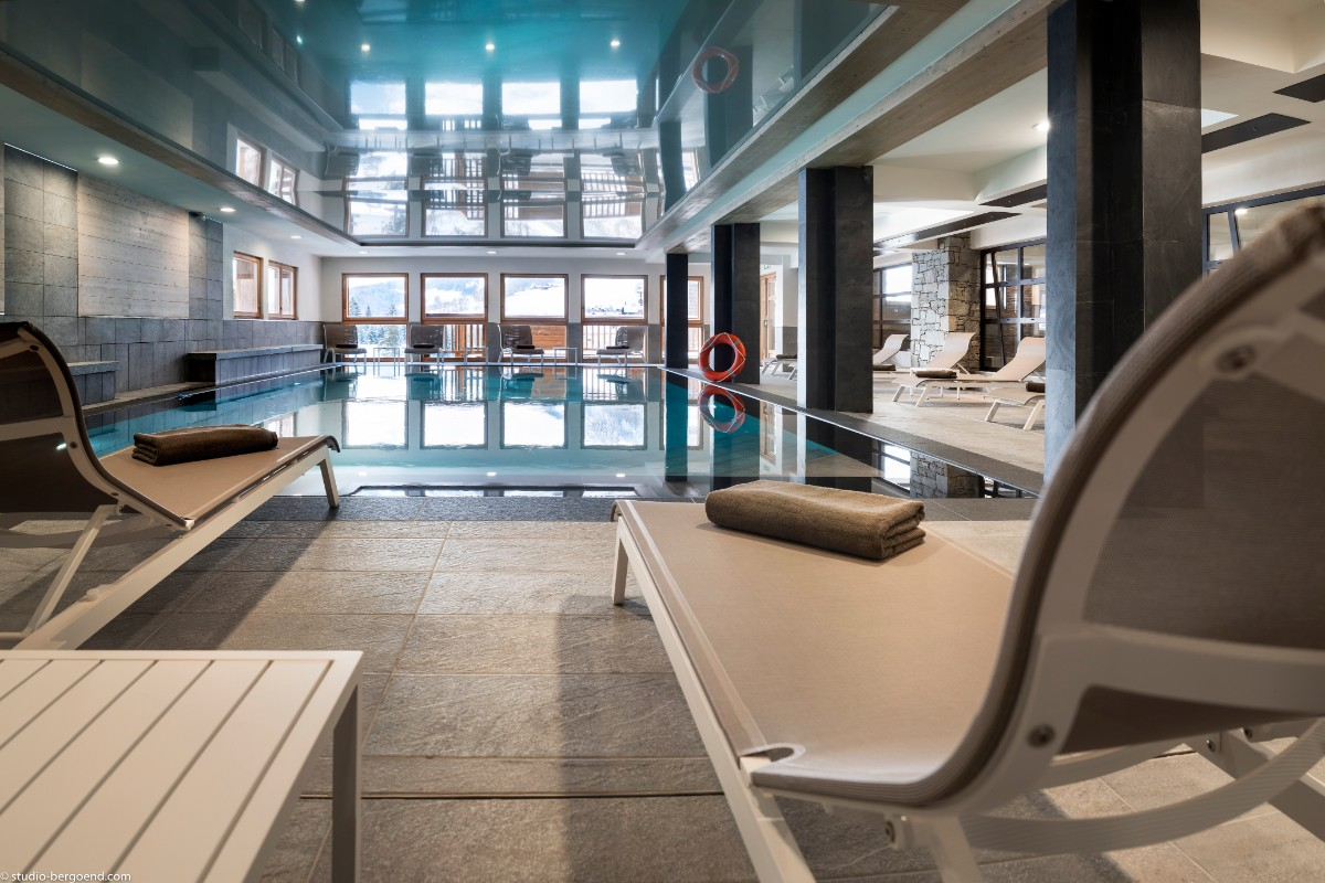 Le Roc des Tours, Grand Bornand (self catered apartments) ©MGM-studio Bergoen - Indoor Pool