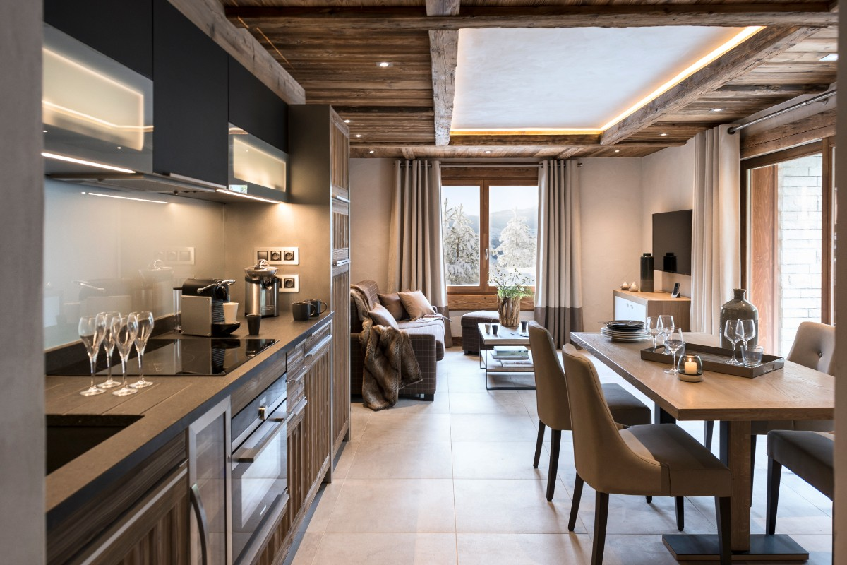 Le Roc des Tours, Grand Bornand (self catered apartments) ©MGM-studio Bergoen - Apartment