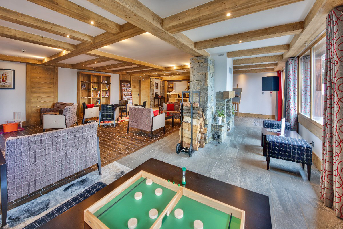 Les Marmottons, La Rosiere (self catered apartments) - Lounge