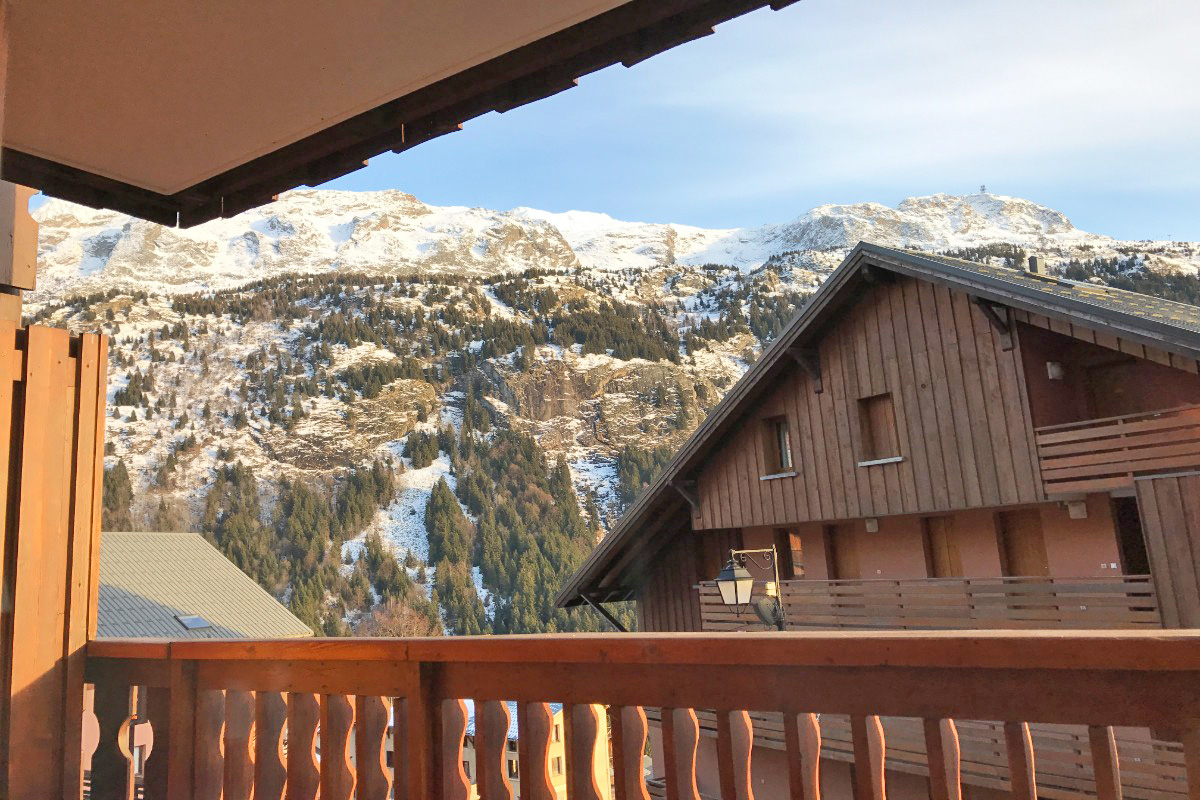 La Fare, Vaujany (self catered apartments) - View from South facing balcony