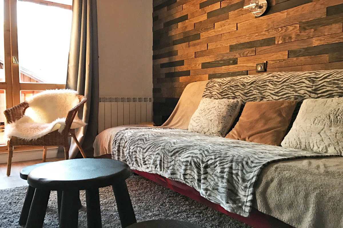 La Fare, Vaujany (self catered apartments) - Lounge