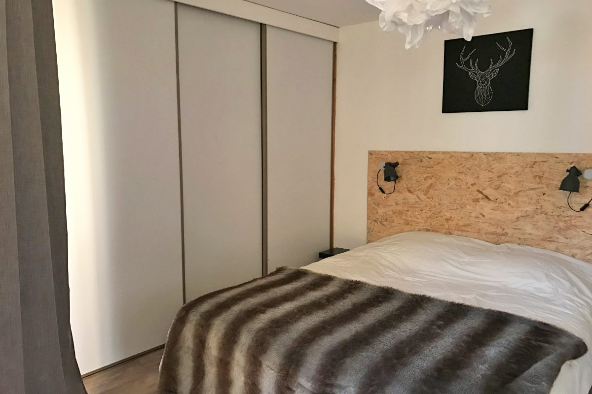 La Fare, Vaujany (self catered apartments) - Double Bedroom