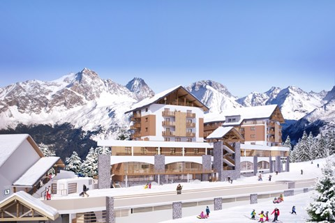 Village Club, Oz en Oisans (hotel) - Artists Impression
