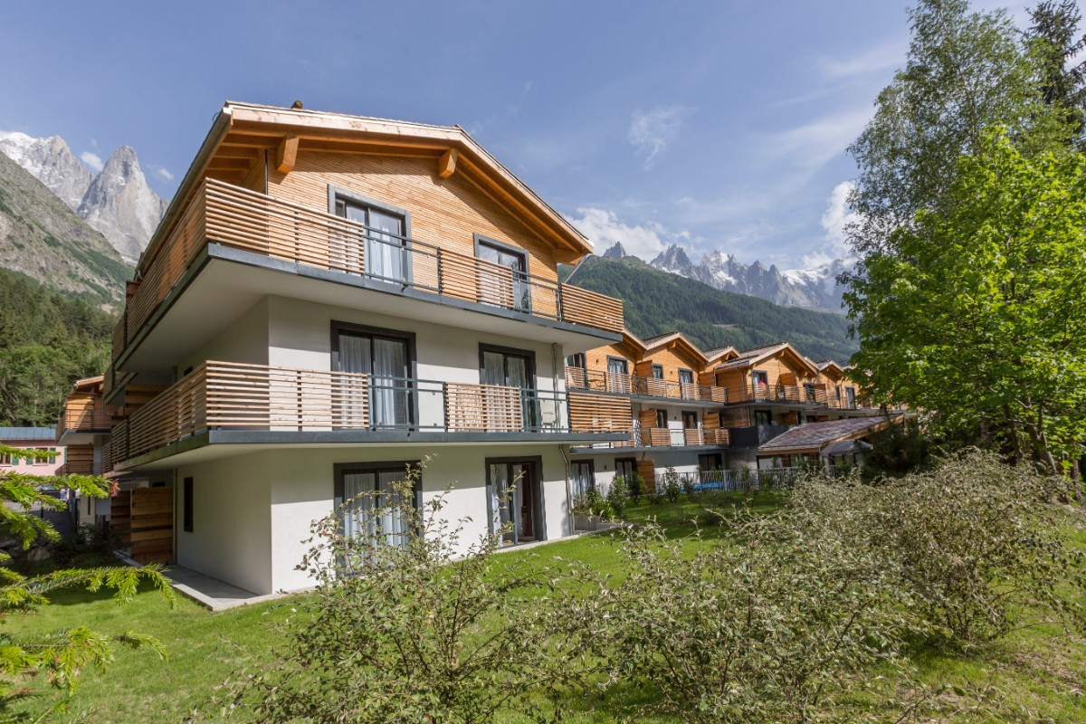 Isatis, Chamonix (self catered apartments) - Stunning location
