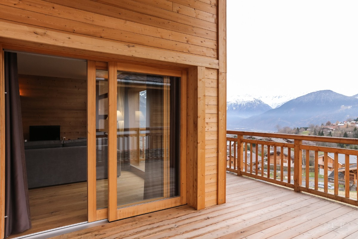 Fermes du Mont Blanc, Combloux (self catered apartments) - Balcony