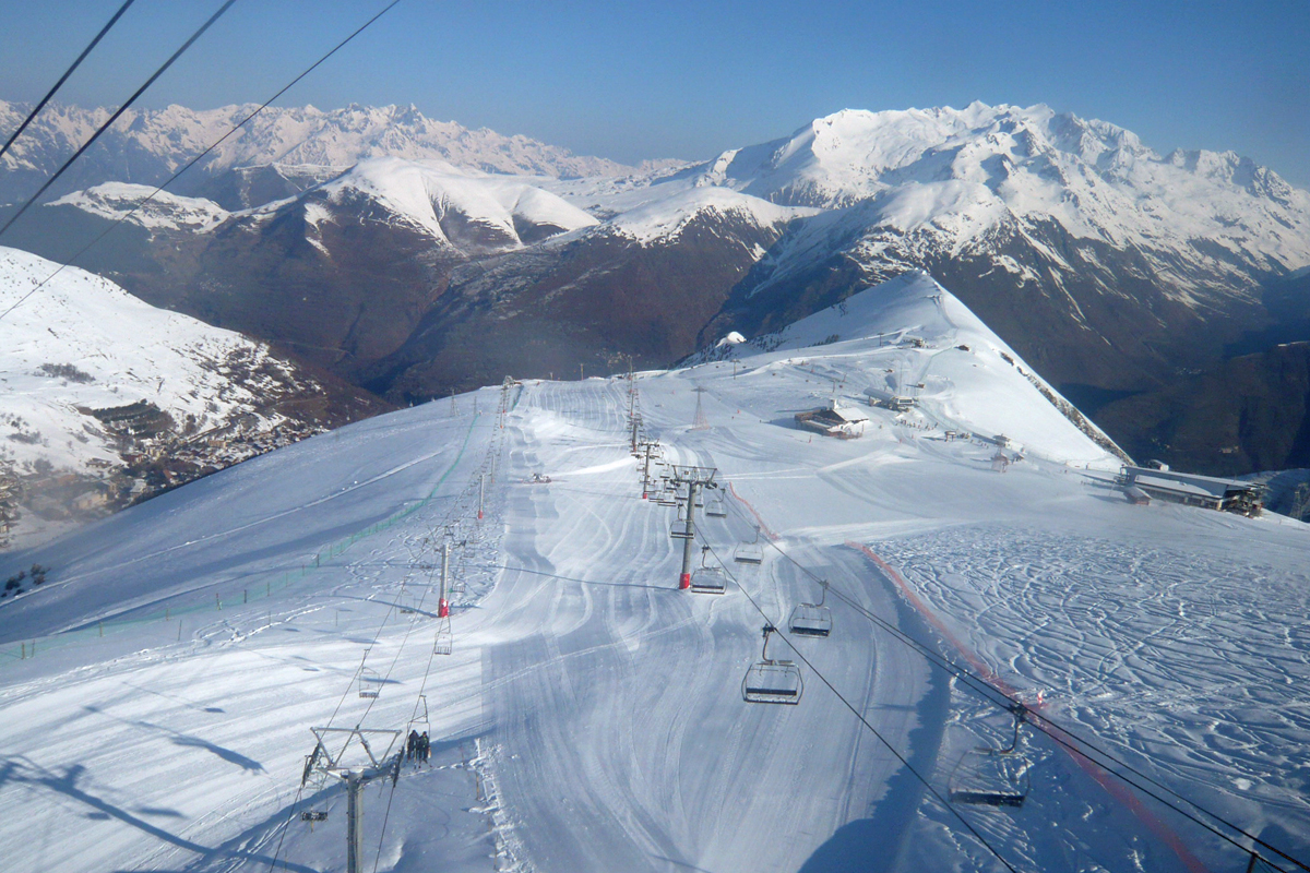 The view from the Jandri Express lift