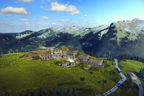 Club Med Grand Massif Samoens Morillon, Samoens 1600, Samoens - Artists Impressions - Summer