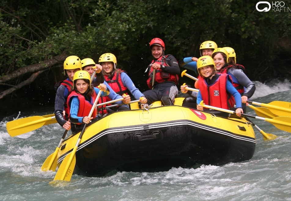 Peisey Vallandry Village - Rafting in Bourg St Maurice
