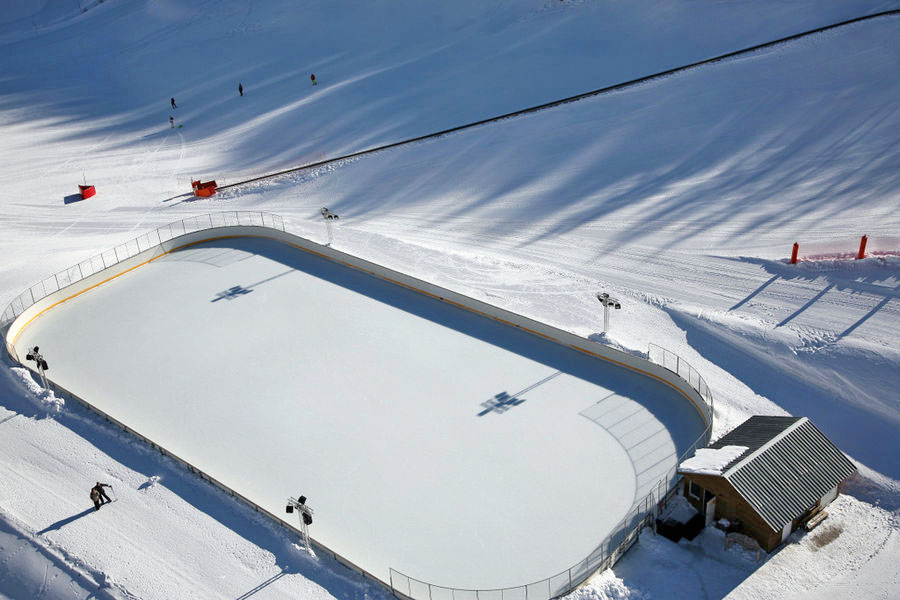Montgenevre ski resort - Ice rink