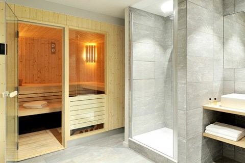 Chalets home private sauna summer