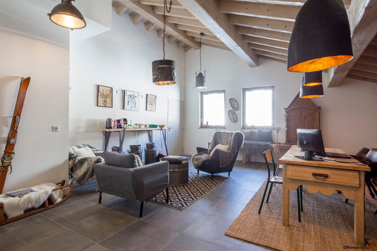 Hameau de Barthelemy, La Rosiere (self catered apartments) - Reception