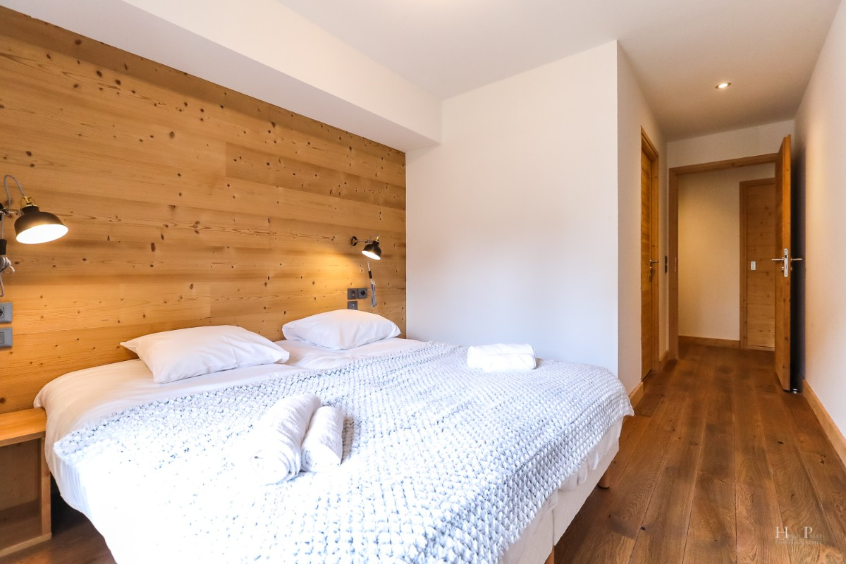 Fermes du Mont Blanc, Combloux (self catered apartments) - Twin bedroom