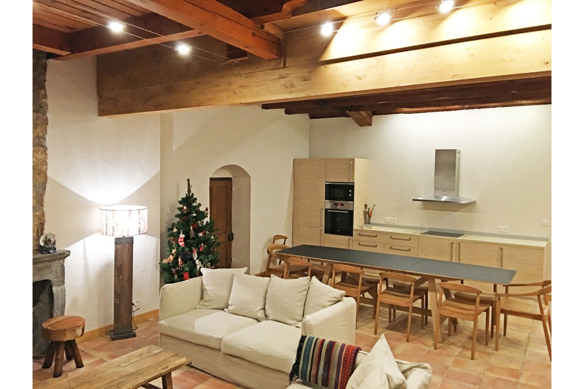 Maison du Bourg, Samoens (self catered chalet) - Open plan