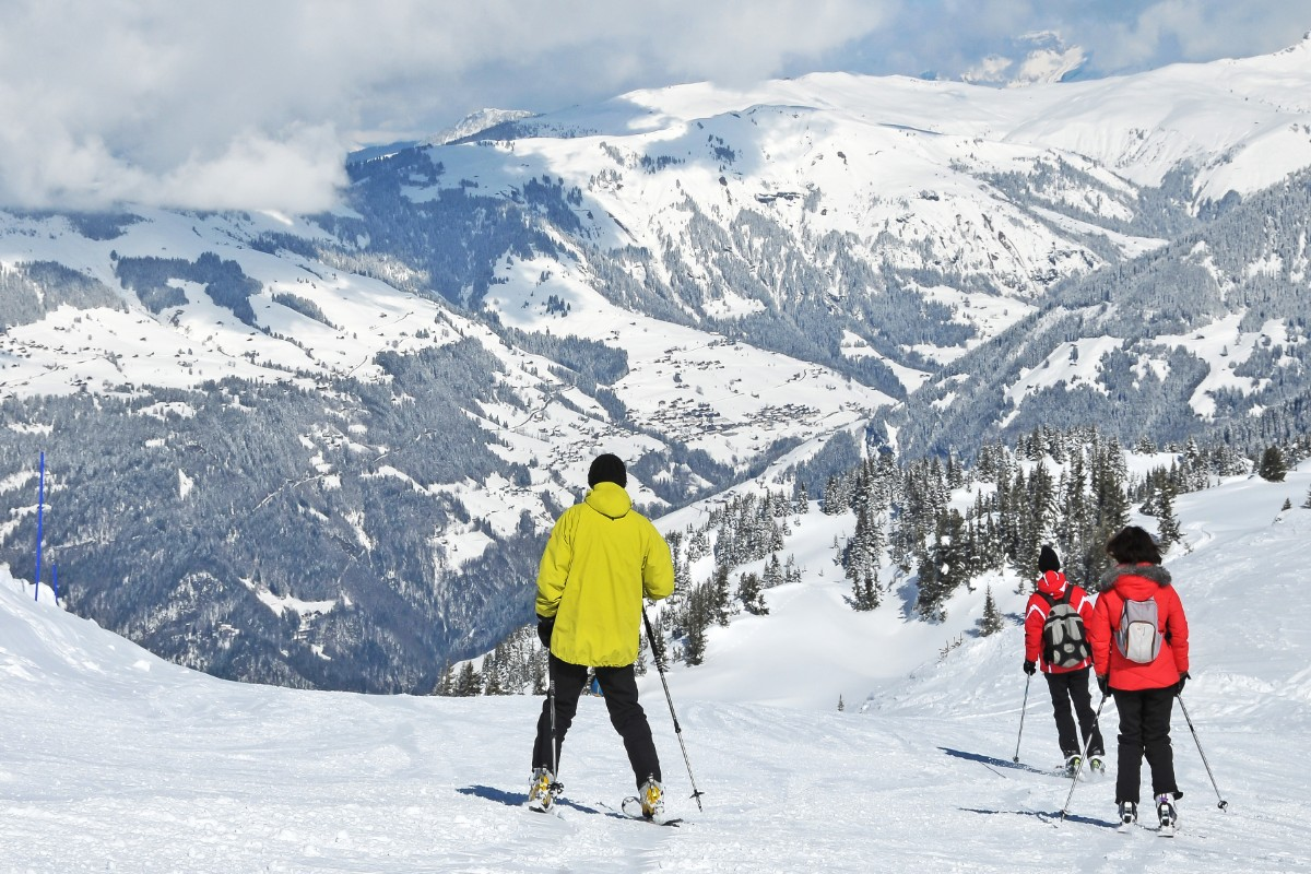 Areches-Beaufort ski slopes