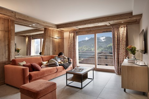 Alexane apartments samoens summer