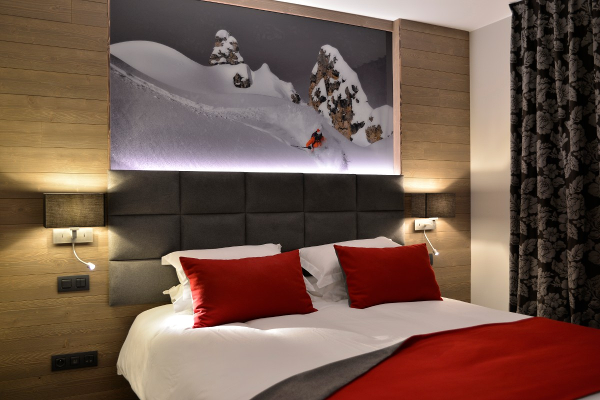 Hyatt Centric, La Rosiere (hotel) - King room with balcony
