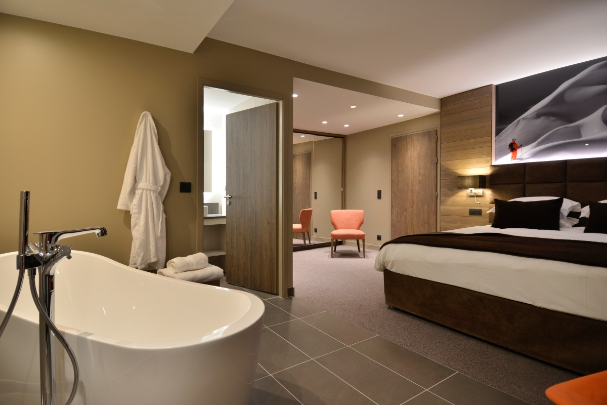 Hyatt Centric, La Rosiere (hotel) - Mountain view suite