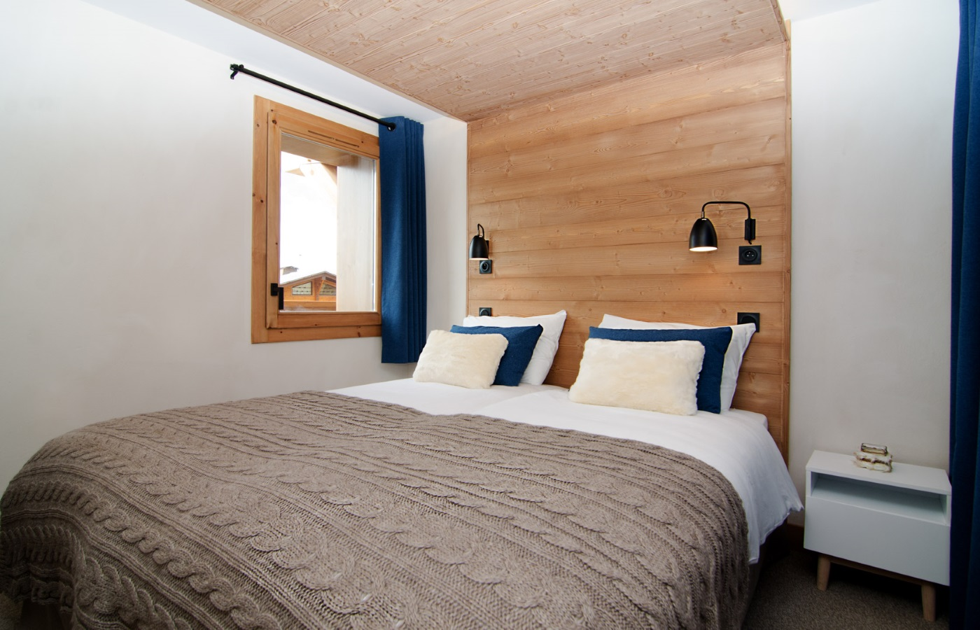 Les Armaillis, Les Saisies (self catered apartments) - Twin bedroom