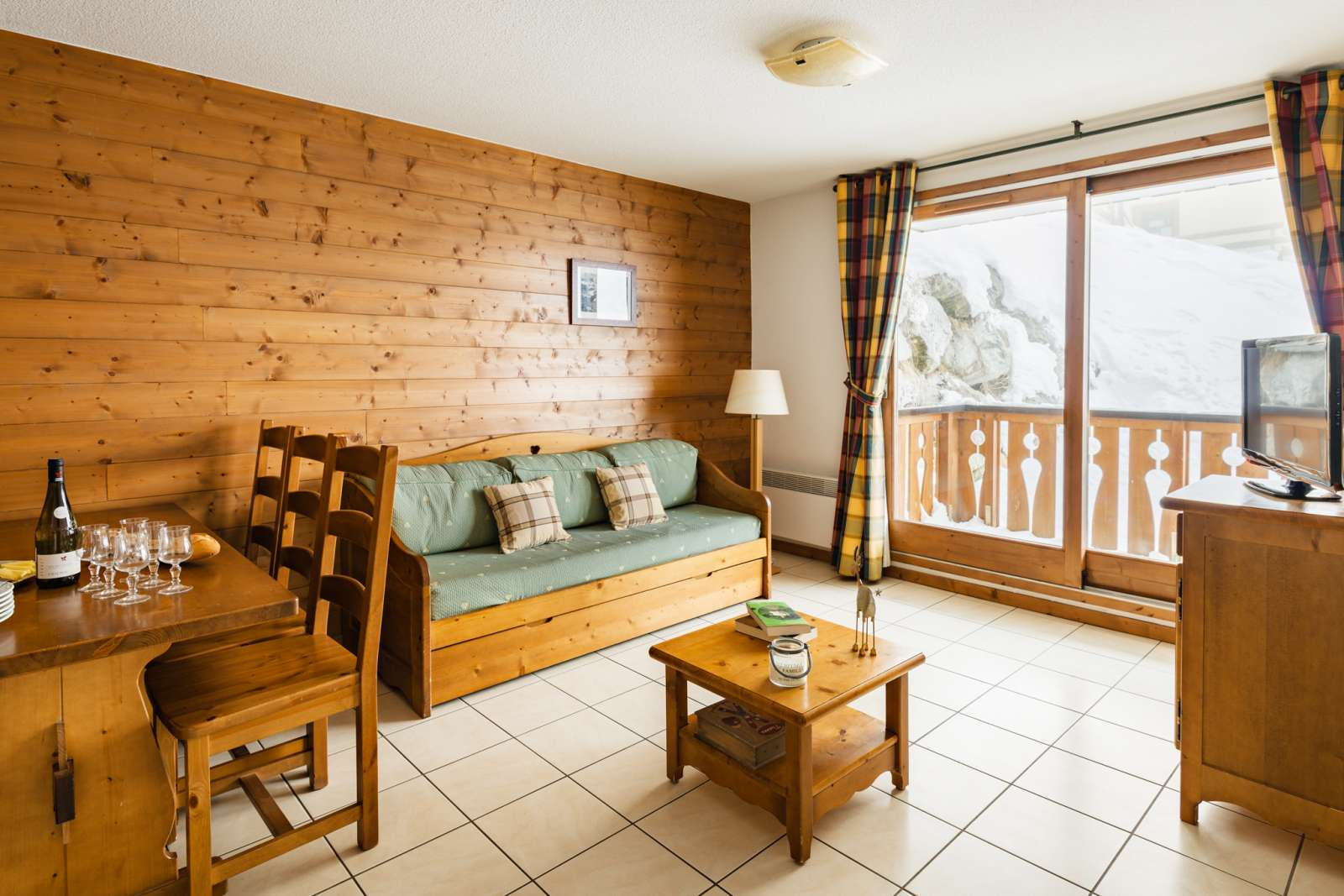 Arollaie, Peisey Vallandry (self catered apartments) - Apartment with balcony