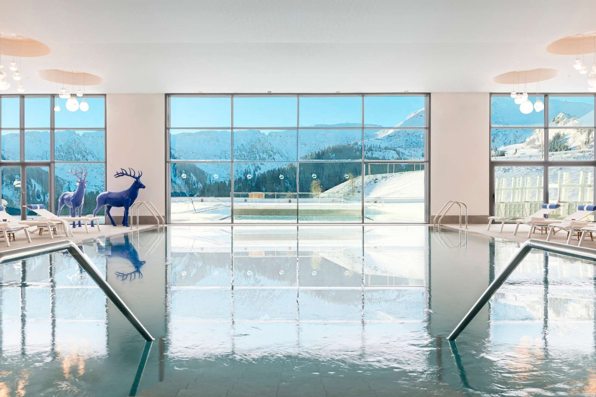 Club Med Grand Massif Samoens Morillon (all inclusive hotel) - Indoor pool