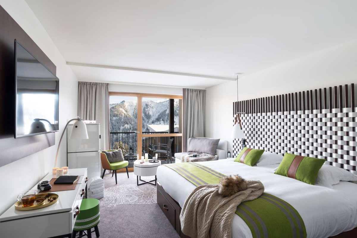 Club Med Grand Massif Samoens Morillon (all inclusive hotel) - Typical deluxe room
