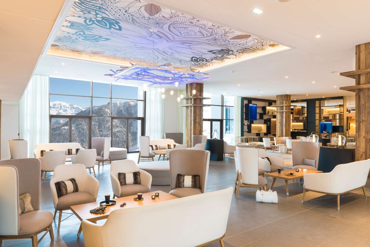 Club Med Grand Massif Samoens Morillon (all inclusive hotel) - Lounge/bar