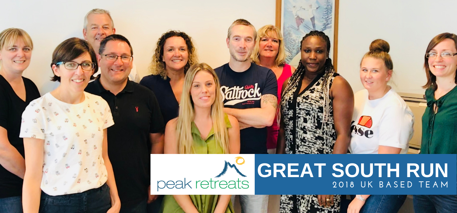 The Great South Run UK based team