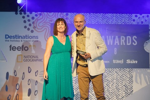 Times Travel Editor's Award 2018
