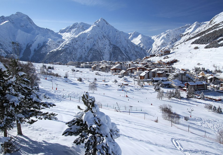 Les 2 Alpes Ski Resort