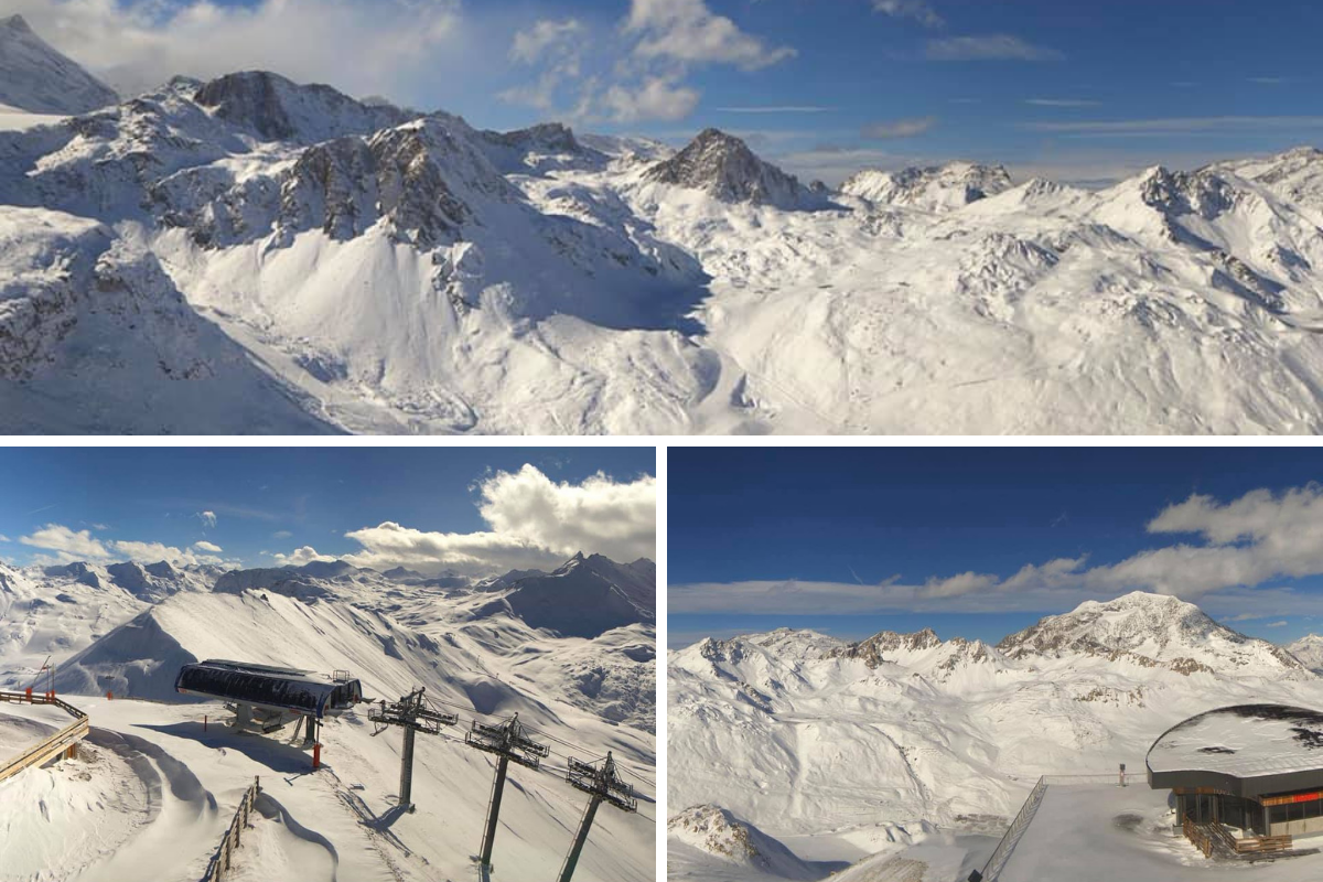 Here's some glorious snaps of Tignes this season!