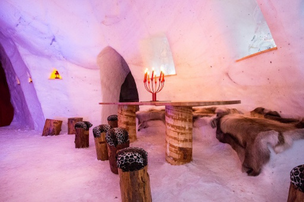 Igloo in Chamrousse